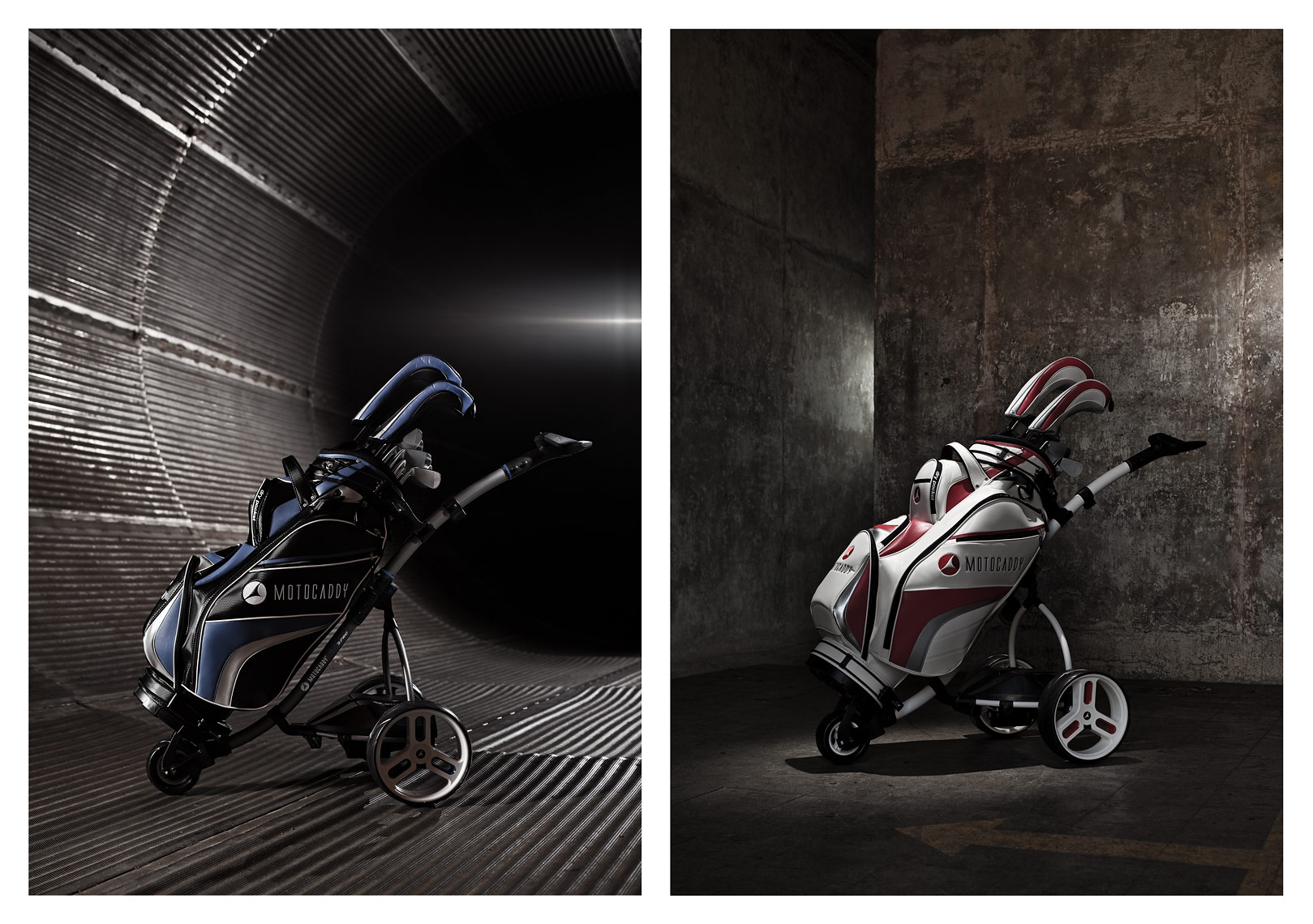 Motocaddy, print advertising, Full Page