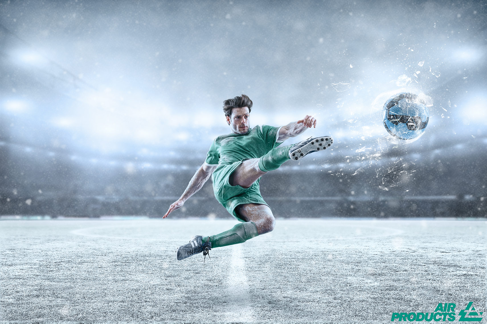 Advertising Photography & Retouching for Air Products
