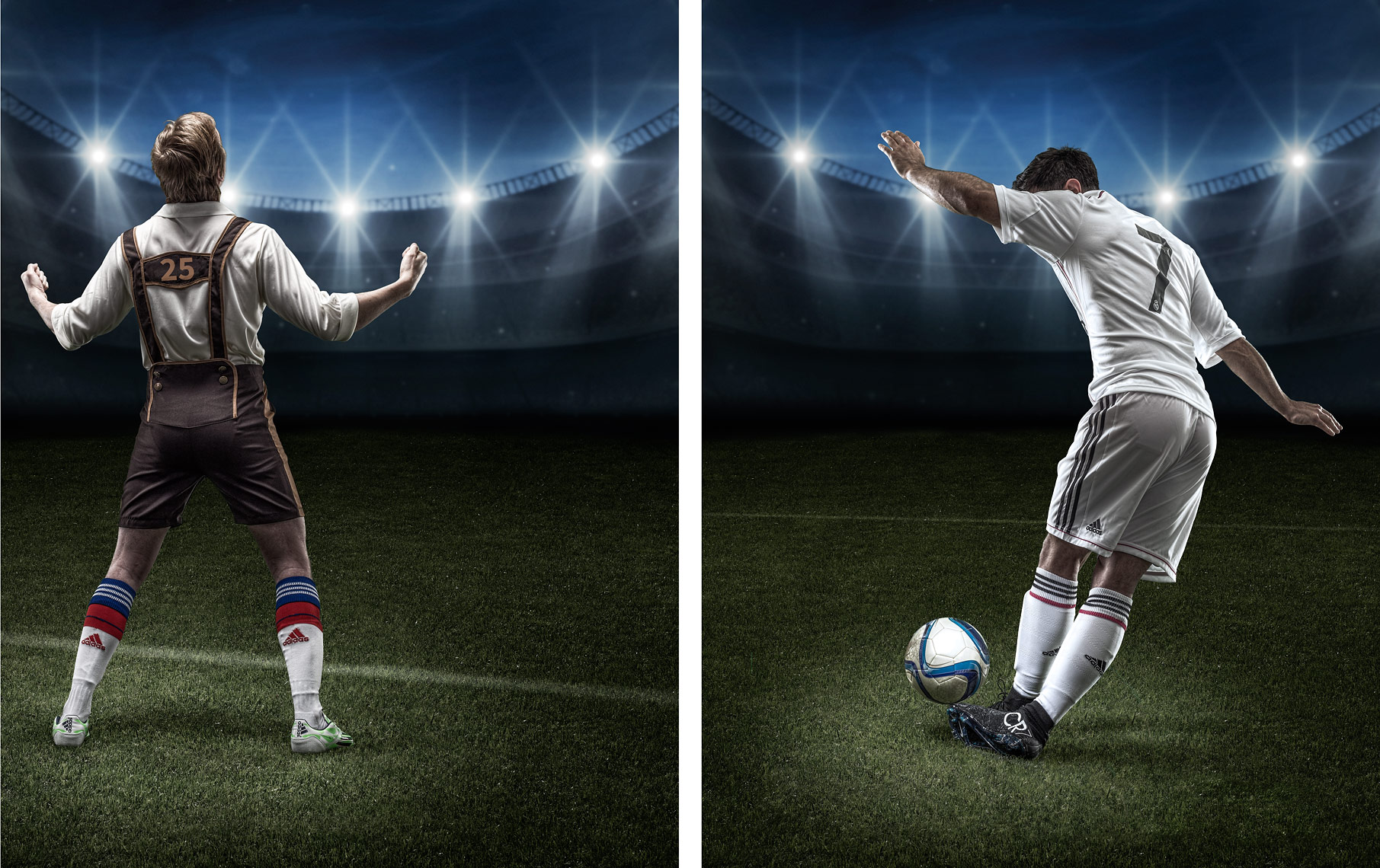 Advertising Photography, football concepts