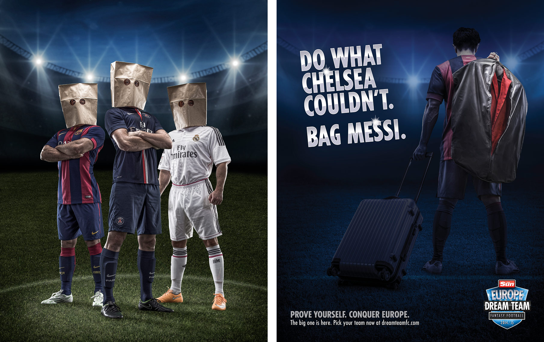 Advertising Photography, soccer concepts