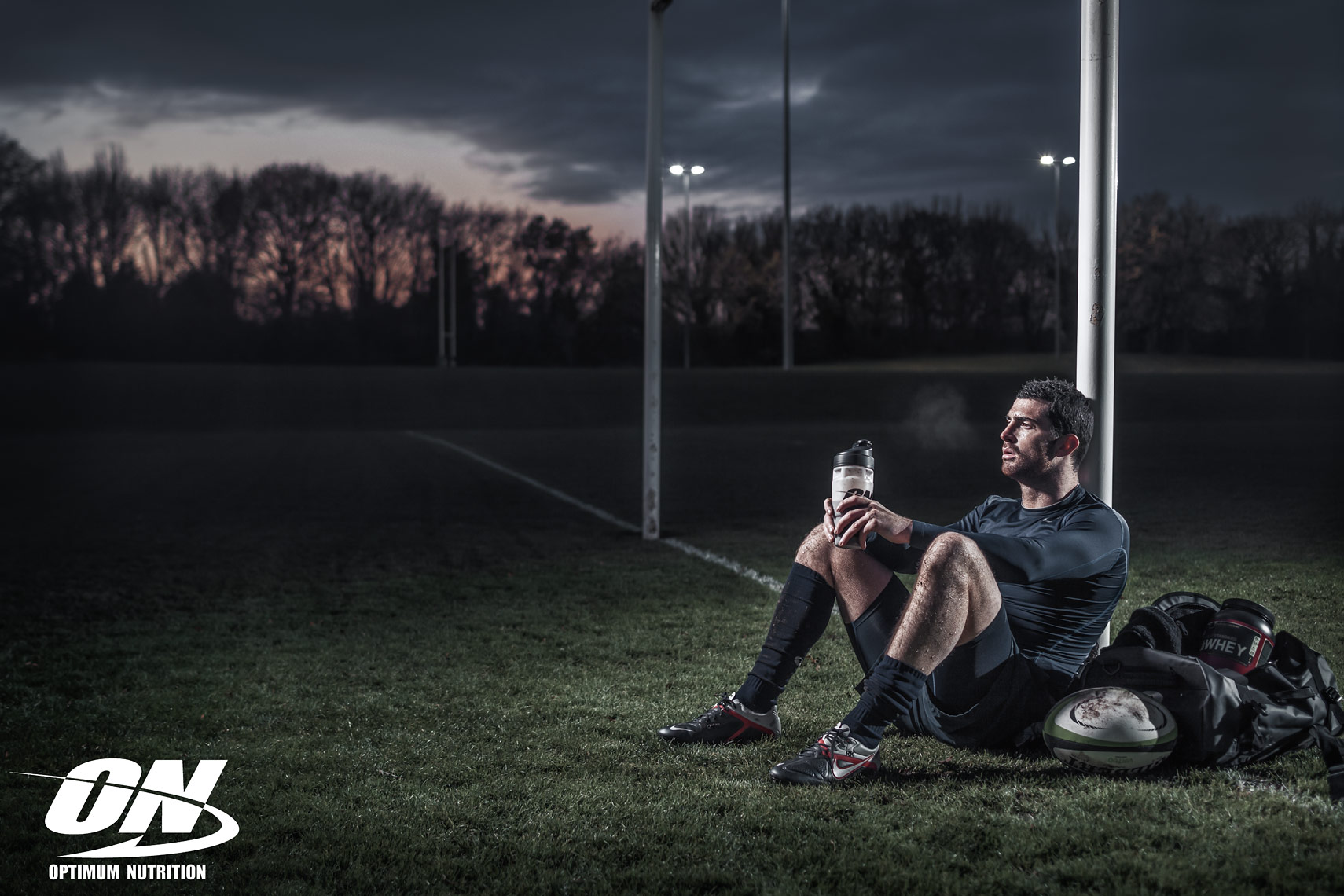 Advertising Photography, Optimum Nutrition, Rugby