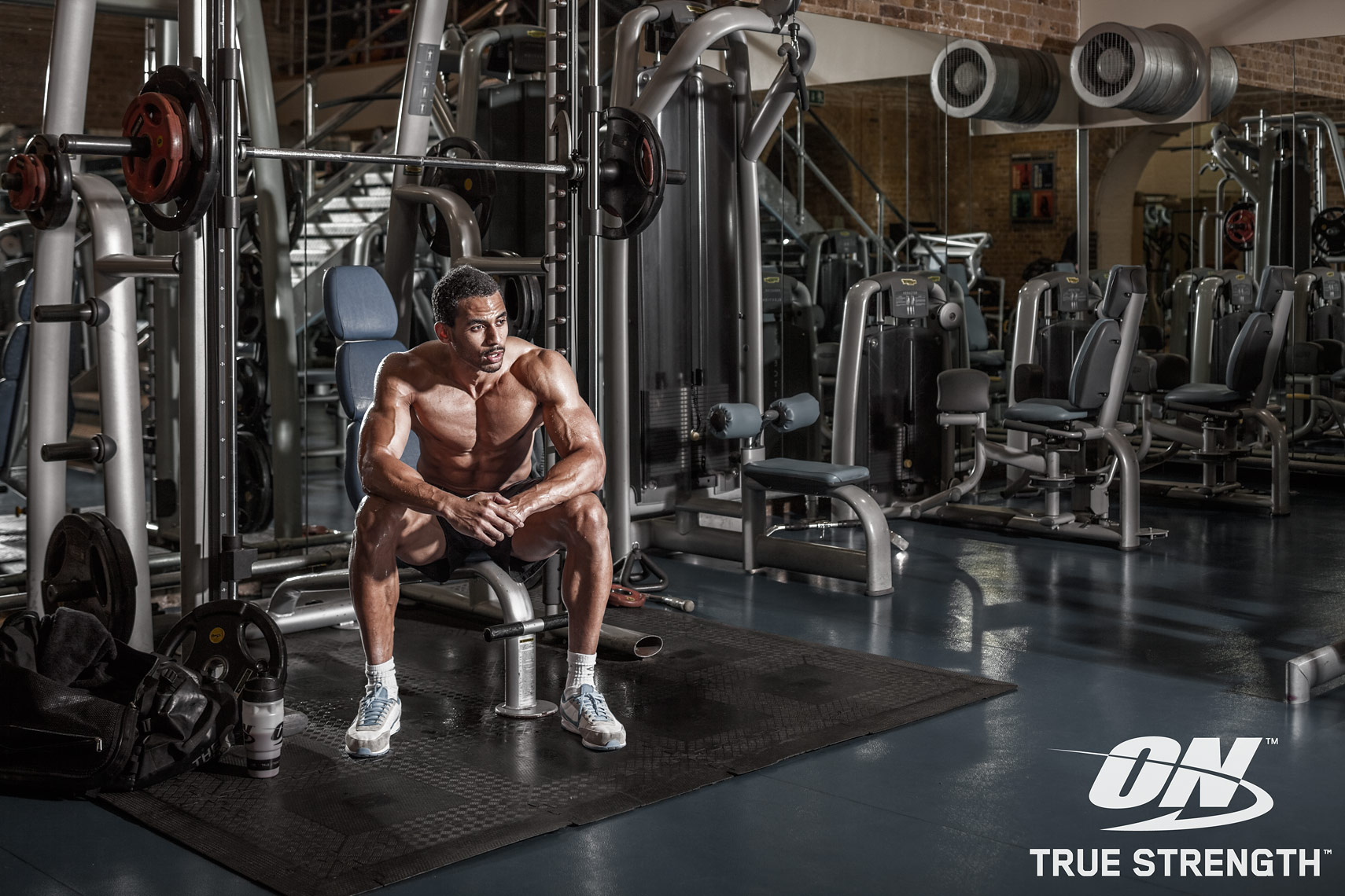 Advertising Photography, Optimum Nutrition, bodybuilding